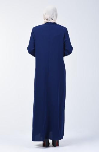 Pardessus Grande Taille 2006-04 Bleu Marine Clair 2006-04