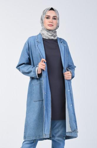 Basic Uzun Tshirt 8131-03 Antrasit