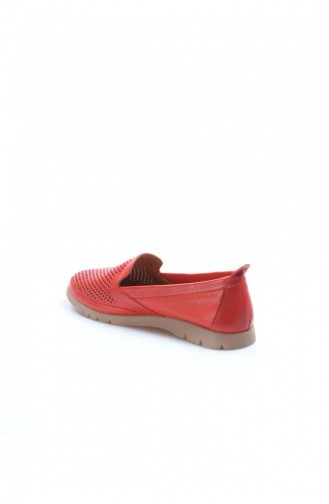 Fast Step Günlük Ayakkabı Hakiki Deri Nar Çiçek Casual Ayakkabı 863Za523 863ZA523-16778907