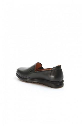 Fast Step Günlük Ayakkabı Hakiki Deri Siyah Casual Ayakkabı 863Za20251 863ZA2025-1-16782021