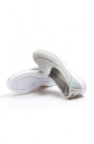 Fast Step Spor Ayakkabı Gri Logo Beyaz Yürüyüş Ayakkabı 629Za254201 629ZA254-201-16782418