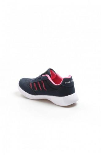 Fast Step Spor Ayakkabı Lacivert Fuşya Sneaker Ayakkabı 925Za221 925ZA221-16779001
