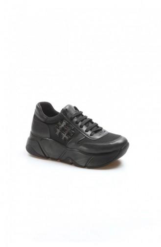 Fast Step Spor Ayakkabı Siyah Sneaker Ayakkabı 629Za010500