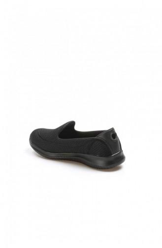 Fast Step Spor Ayakkabı Siyah Logo Gri Yürüyüş Ayakkabı 629Za254201