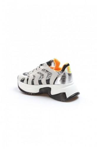 Fast Step Spor Ayakkabı Tas Leopar Sneaker Ayakkabı 629Za085203
