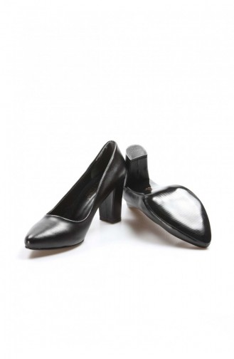 Fast Step Topuklu Ayakkabı Siyah Kısa Topuklu Ayakkabı 917Za850 917ZA850-16777229