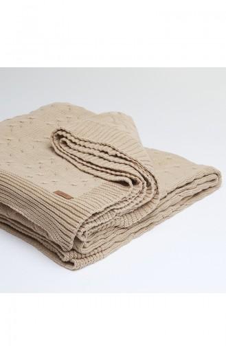 Ceylin Double Blanket Camel 00004