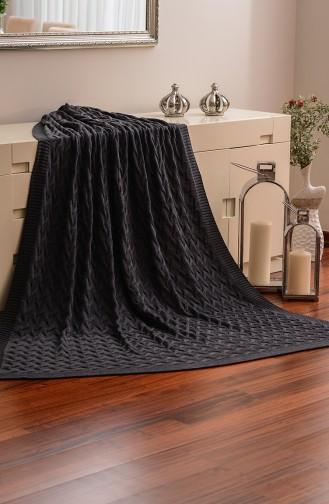 Efsuni Single Blanket 150x220 Efsuni00003-2 Smoke 00003-2