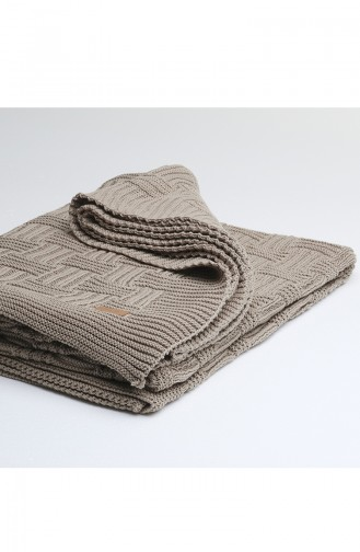 Kuzey Single Blanket Mink 00003