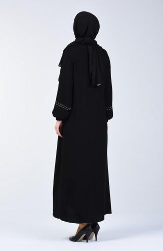 عباءه أسود 60001-01