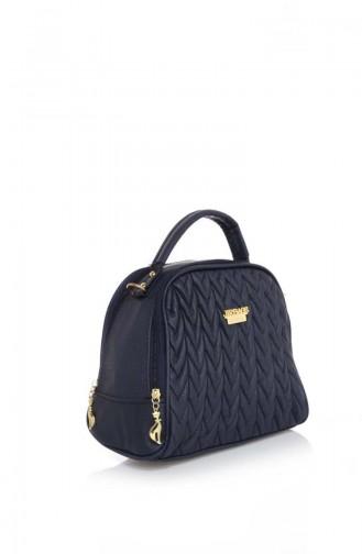 Navy Blue Shoulder Bag 17Z-02