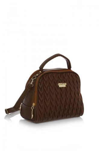 Tobacco Brown Shoulder Bag 17Z-04