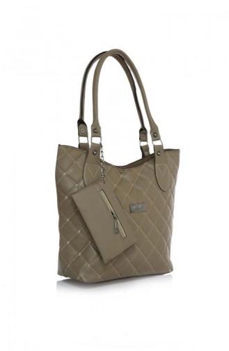 Stilgo Women´s Shoulder Bag JR18Z-05 Mink 18Z-05