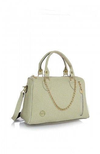 Stilgo Ladies Shoulder Bag Jr19Z-07 Beige 19Z-07