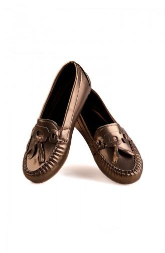 Bayan Ayakkabı 0144-03 Gold 0144-03