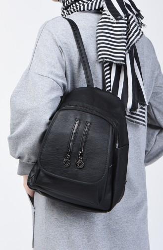 Black Back Pack 15-01