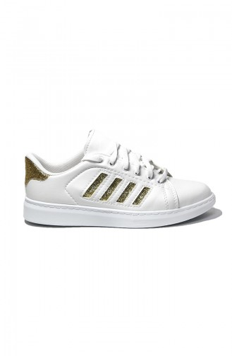 White Sport Shoes 30050-11