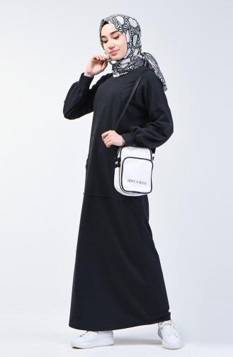Sportkleid mit Tasche 1800-03 Rauchgrau 1800-03