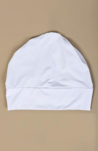 Polyamide Pool Bonnet 26066-02 White 26066-02