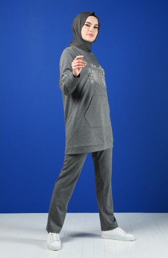 Sportswear Suit with Pocket 9178-05 Anthracite 9178-05