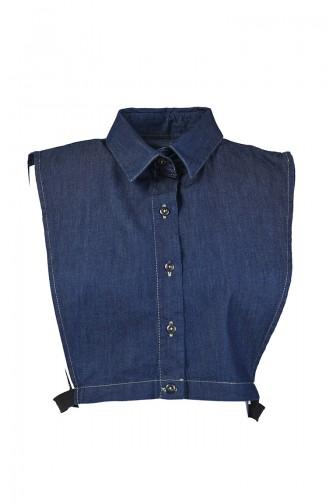 Denim Shirt Collar 8867-01 Jeans Blue 8867-01