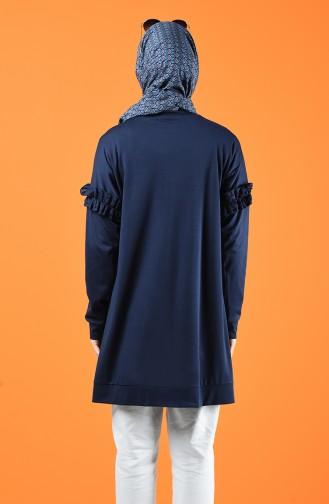 Navy Blue Sweatshirt 8227-01