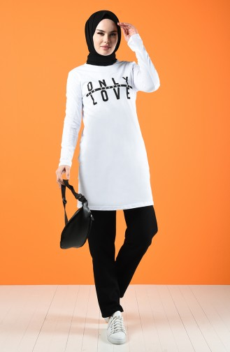 Tunique Blanc 7019-03
