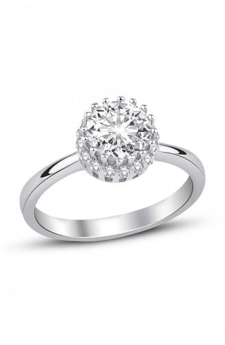 Sky Diamond Solitaire Ring Sky-2321 White 2321