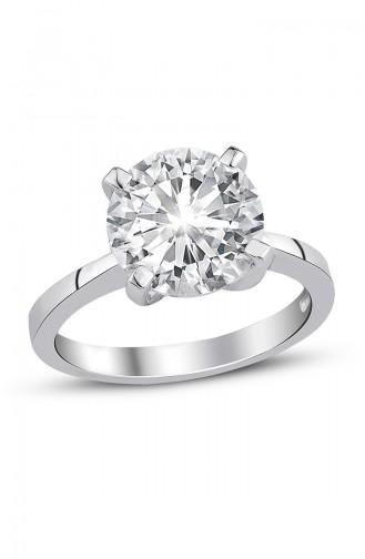 Sky Diamond Solitaire Ring sky-2361 White 2361