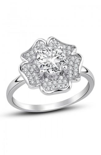 Sky Diamond Clover Ring Sky-2504 White 2504