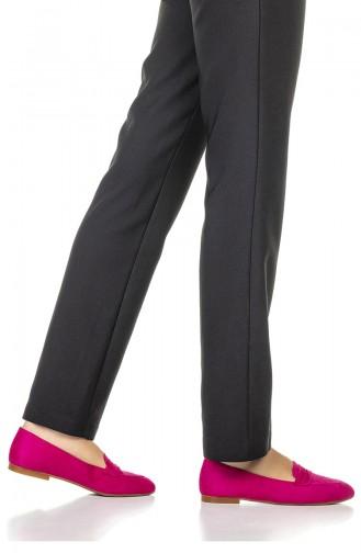 Fuchsia Woman Flat Shoe 1710-06