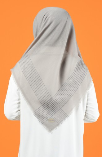 Silvery Cashmere Scarf 901604-01 Light Gray 901604-01