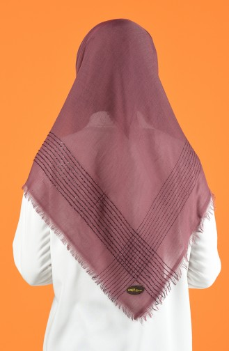 Glittered Cashmere Scarf 901604-17 Dry Rose 901604-17