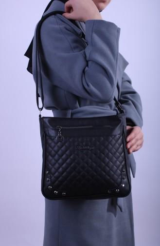 Black Shoulder Bag 13-01