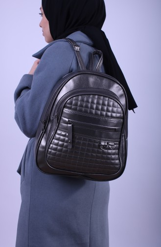 Silver Gray Back Pack 14-05