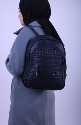 Navy Blue Back Pack 14-06