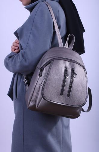Bayan Sırt Çantası ERD15-05 Gümüş