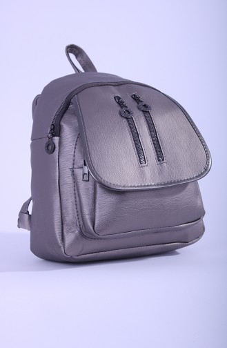 Silver Gray Back Pack 15-05