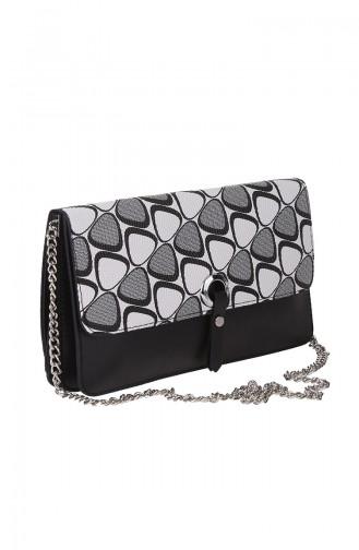 Women´s Cross Shoulder Bag M389-191 Grey 389-191
