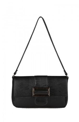 Women´s Cross Shoulder Bag M392-01 Black 392-01