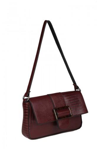 Women´s Cross Shoulder Bag M392-31 Claret Red 392-31