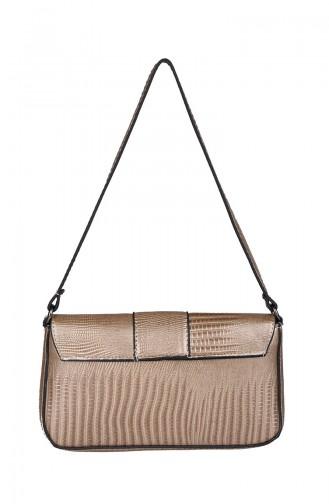 Women´s Cross Shoulder Bag M392-71 Gold 392-71