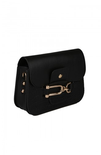 Black Shoulder Bag 393-01