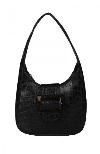 Bayan Çapraz Omuz Çantası M395-01 Siyah