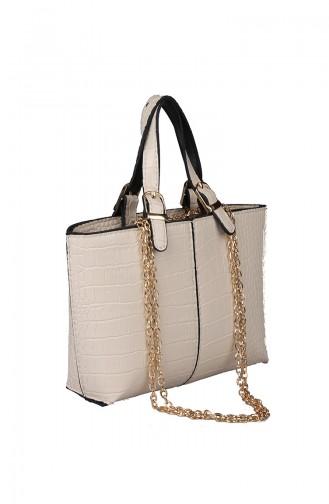 Cream Shoulder Bag 396-116