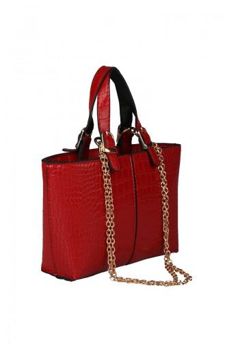 Red Shoulder Bag 396-55