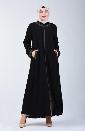 معطف فوقي أسود 2012-06