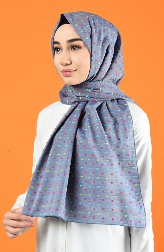 Light Black Sjaal 4642-01