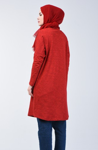 Claret red Tuniek 8027-01