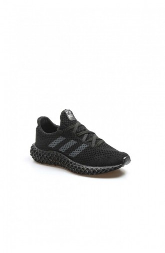 Black Casual Shoes 930ZAFS4-16777229